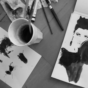 Mode-illustrator Judith van den Hoek